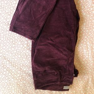 2 pairs of loft corduroy pants from loft.